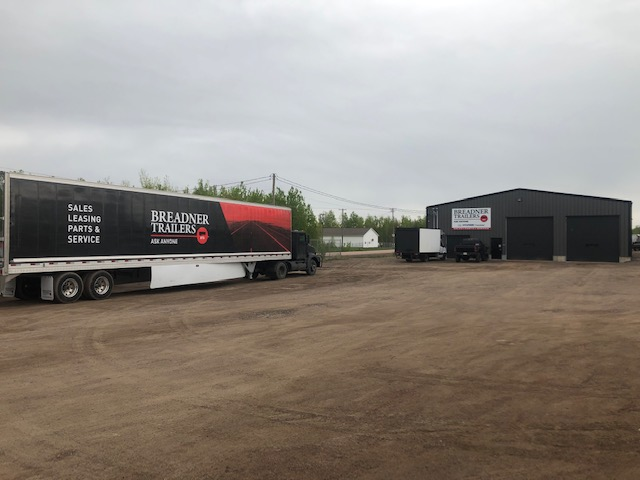 Breadner Trailers Moncton Location