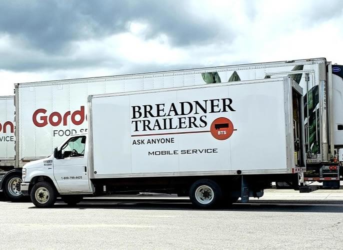 semi-trailer mobile service